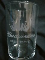 Budweiser select lot of 10 5 oz glass testers tasters bar man cave gift new bud