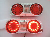 JDM LED Tail Lights for 89~93 Nissan R32 Skyline Coupe GTS-T GT-R RB250DET Trubo