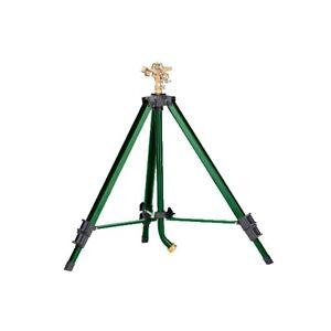 Orbit Heavy Duty Brass Lawn Impact Sprinkler on Tripod Base, Water Yard - 58308N