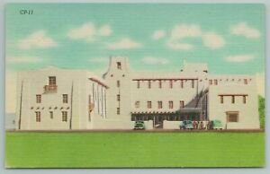 Las Cruces New Mexico~Dona Ana County Court House~Vintage Postcard