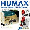 DECODER SATELLITARE DVB-S2 TIVUSAT HUMAX HD-3800S2 - CON TESSERA e OMAGGIO