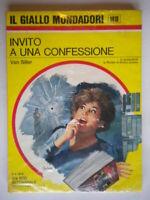 Invito a una confessioneSiller VanMondadorigiallo1418lyman treat nero wolfe