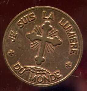 Medaille  1 Rappel de Notre Foi - Noel 1971
