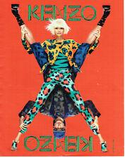 Publicité Advertising 087  2013  Kenzo  haute couture