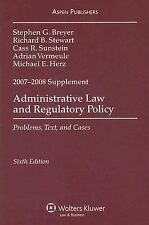 Administrative Law and Regulatory Policy 2007-2008 Case Supplement