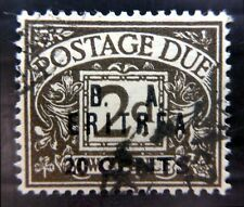 ERITREA 1950 - 2d Postage Due SGED8 with Tiniest Tear BJ445