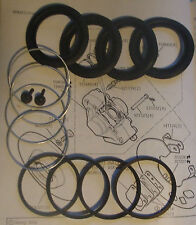 X2 FORD Escort MK1 RS2000 Mexico Rs1600 Twin Cam frein Étrier réparation joints kits