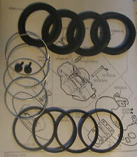 (x2) FORD Cortina Mk2 GT & 1600e FRONT BRAKE CALIPER Seals Repair Kits (1966-70)