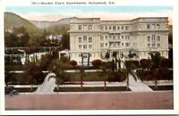 Postcard Garden Court Apartments in Hollywood, California~138014