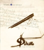 1999 Cadillac DeVille Deluxe Sales Brochure Catalog Book Canada