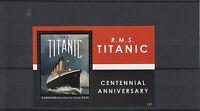 Canouan Grenadines St Vincent 2013 MNH RMS Titanic Centennial Anniversary 1v S/S