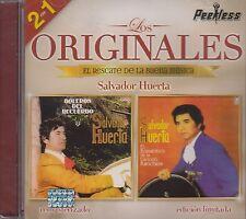 Salvador Huerta Boleros del Recuerdo,el Romantico de la Cancion CD 2 en 1