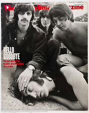 DON McCULLIN Beatles PETER FONDA Branka Katic DAVID CROSBY Sunday Times magazine