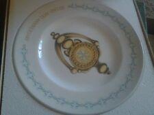 Avon Second Anniversary Plate Avon Doorknocker Collectors Plate