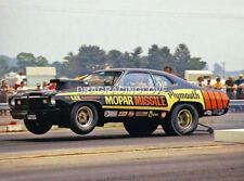 """MOPAR MISSILE"" Don Carlton 1973 Plymouth Duster Pro Stocker PHOTO!"