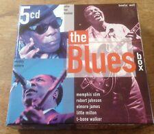 1999 DISKY DB 249632 THE BLUES BOX 5 CD BOXSET - LIKE NEW