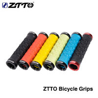 1Pair ZTTO MTB Handlebar Grip Rubber Lock on Anti slip Grips for MTB Road Bike