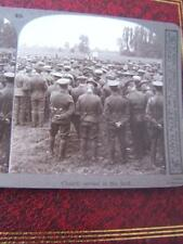 Stereo View Stereo Card - Military Army Soldiers WWI Regiments Battlefields