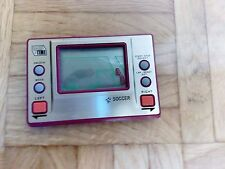 GAME & TIME SOCCER MORIOKA TOKEI TIPO GAME & WATCH MADE IN JAPAN