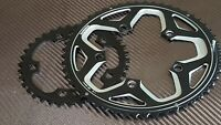 2x Shimano RS500 Chainrings (36 + 52t) COMPACT 10 or 11s Road Bike Chain Ring