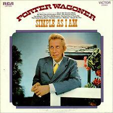 "PORTER WAGONER ""Simple As I Am"" USED 1971 RCA LP EX/VG+"