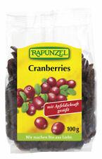 KS (33,50/kg) 6x Rapunzel Cranberries bio 100 g