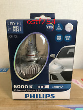 PHILIPS Headlight LED Bulb HB3 / HB4 6000K 1760lm 12V 22W X-treme Ultinon 2 pcs