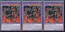 Ancient Gear Howitzer x3 - RATE-EN042 - Common Yugioh Raging Tempest