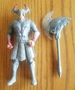 """DC Comics Justice League Steppenwolf Action Figure Light Up Axe loose 8.5"""" 9"""""""