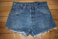 LEVIS 835 Short en Jeans Femme W 31  Taille Fr 40 (Réf # V-171)