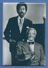 REDD FOXX DEMOND WILSON SANFORD AND SON *2X3 FRIDGE MAGNET* TV SHOW COMEDY HUMOR