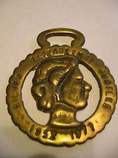 Commemorative Horse Brass Historical Horse Decor Queen Victorian 1897 Diamond Jubilee FREE POST Bridal Maltese Cross Cast Brass