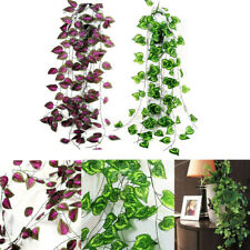 ITS- Fake Hanging Flower Artificial Vine Plant Wedding Indoor Outdoor Garden Dec