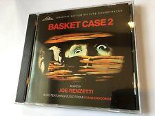 BASKET CASE 2 / FRANKENHOOKER (Joe Renzetti) OOP 1990 Soundtrack Score OST CD NM