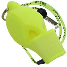 00aa5c561e9c NEON YELLOW Fox 40 ECLIPSE CMG Whistle Referee Coach Safety Alert Rescue  LANYARD