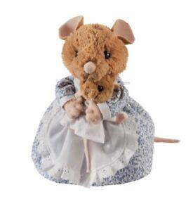 Gund Peter Rabbit Plush Hunca Munca & Baby 18cm Brand New