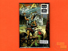 "Zork TRS-80  box art 2x3"" fridge/locker magnet  Infocom"