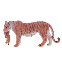 Mountain Wildlife Animal Collectibles Female Tiger Cub Figure Model Display
