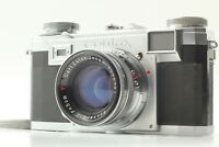 *EXC+5* Contax IIa black dial Zeiss Ikon Film Camera 50mm F2 Lens from Japan