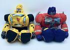 Transformers Bumblebee Slumblebee & Optimus Prime Softimus 2006 Plush