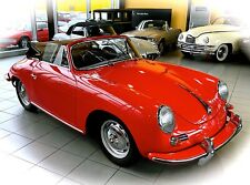 *ERSTKLASSIGES GLANZLICHT* Porsche 356 B Cabriolet aus 1963 im Oldtimer Museum