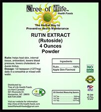 Rutin 4oz Powder Organic Sourced from Apples