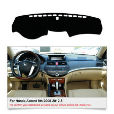 DashMat Dash Cover Mat For Honda Accord 2008-2012.8 Dashboard Cover Set Fly5D