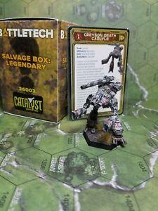 Battletech Kickstarter Salvage Box Legendary