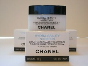CHANEL HYDRA BEAUTY NUTRITION NOURISHING AND PROTECTIVE 50G MADE IN FRANCE 2020