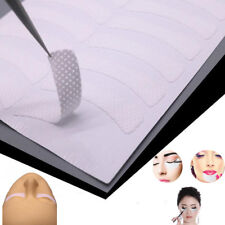 100PCS Eyelash Extension Fabrics Pads Stickers Patches Adhesive Tape Tool White