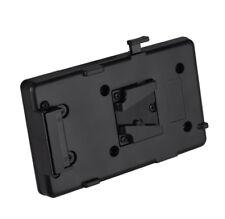 V-Mount Batterie Platte Adapter Back Pack Plate Sony V-Shoe V-Lock Externer Akku