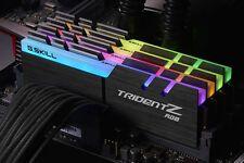 G.Skill 32GB (4x8GB) DDR4 Trident Z RGB 3200MHz[F4-3200C16Q-32GTZR]