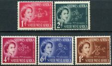 South West Africa 1953 SG#149-153 Coronation MNH Set #E19555