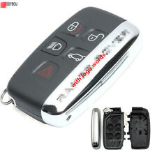 New Smart Remote Key Shell Case 5 Button For Land Rover Range Rover Sport Lr4 Fits More Than One Vehicle